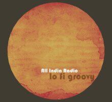 All India Radio - Lo Fi Groovy Tshirt by Martin Kennedy