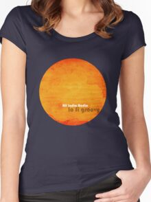 All India Radio - Lo Fi Groovy Tshirt Women's Fitted Scoop T-Shirt