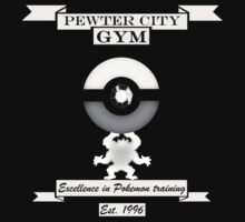 Pewter City Gym by Genus Bombus