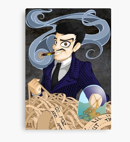 Gomez Addams Canvas Print