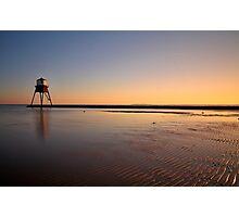 Sunset At The Beach, Dovercourt: 3 Photographic Print