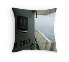 Splitting the Difference 51 Throw Pillow