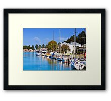 Moyne River - Port Fairy Framed Print