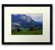 Mt Roland - North West Tasmania Framed Print
