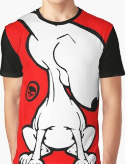 English Bull Terrier Smug Sit Graphic T-Shirt