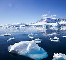 Wilhelmina Bay Antarctica  by PhotoStock-Isra