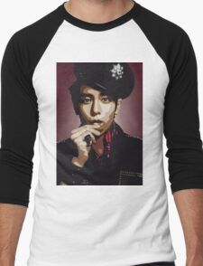 TOP BigBang Kpop Big Bang VIP Men's Baseball ¾ T-Shirt