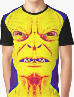 Gollum, alias in The Lord of the Rings: The Two Towers Graphic T-Shirt