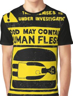 HUMAN FLESH Graphic T-Shirt