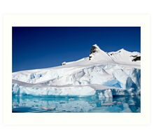 Wilhelmina Bay Antarctica  Art Print