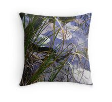 Esk River - NSW - Waters Edge Throw Pillow