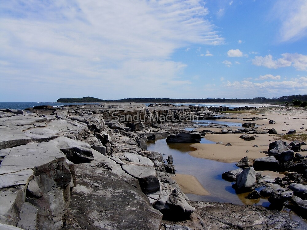 Frasers Reef - NSW - Rocks by Sandy MacLean