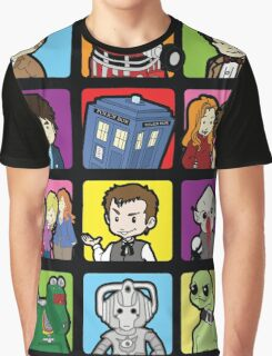 Doctor Squares Graphic T-Shirt