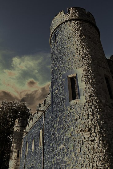 Tower of London Digital Manipulation by DavidHornchurch