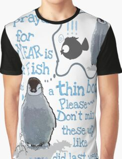 Baby penguin's funny New Year's resolution Graphic T-Shirt