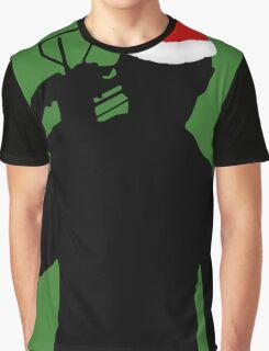 Daryl Dixon Textless Christmas Design (Dark) Graphic T-Shirt