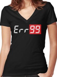Err99 Canon Camera Women's Fitted V-Neck T-Shirt