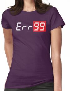 Err99 Canon Camera Womens Fitted T-Shirt