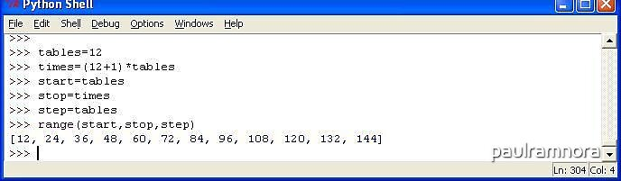 251211 Python 12 x Tables program by paulramnora