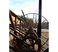 Big Wheels Keep On Turning ! Photographic Print