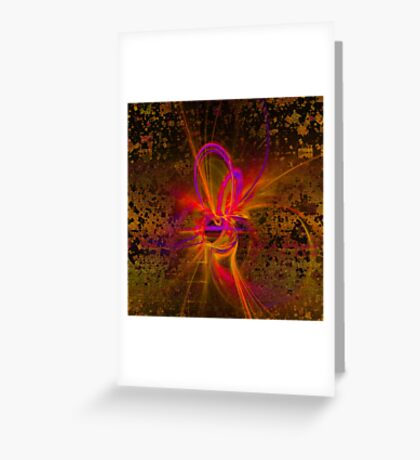 Ferria abstraction Greeting Card