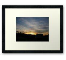 Sundown 2 Framed Print