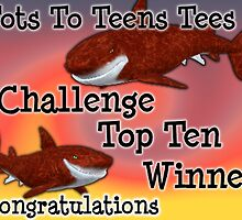 Tots To Teens tees top ten banner by LoneAngel