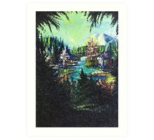 Mountain Hideaway Art Print