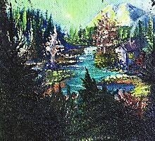 Mountain Hideaway by djmartinusen
