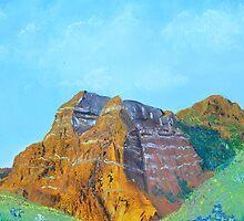 Red Mountain by djmartinusen