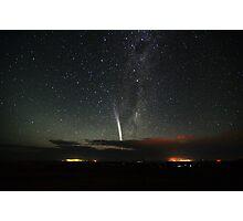 Comet Lovejoy over Mannum Photographic Print