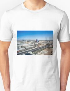 Las Vegas Cityscape as seen from the top of the Stratosphere Tower T-Shirt