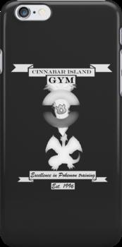 Cinnibar island gym by Genus Bombus