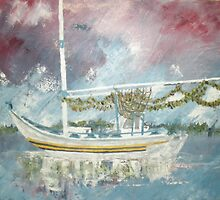 Sponge Boat by Newhouser