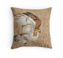 Hawk Landing Throw Pillow