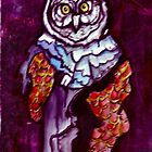 Owl Wizard/ Original work by Amit Grubstein by AmitArt