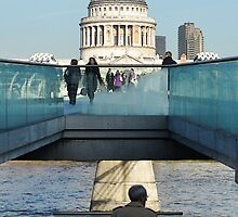 Towards St. Pauls Cathedral by Heather Thorsen