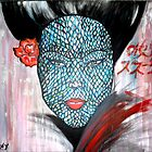 Snake Woman/ ORIGINAL PAINTING by Amit Grubstein by AmitArt