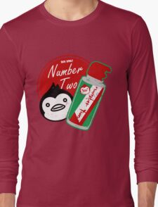 Penguin's Number Two Bug Spray Long Sleeve T-Shirt