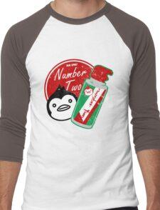 Penguin's Number Two Bug Spray Men's Baseball ¾ T-Shirt