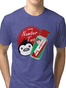 Penguin's Number Two Bug Spray Tri-blend T-Shirt