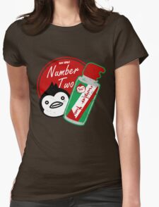 Penguin's Number Two Bug Spray Womens Fitted T-Shirt