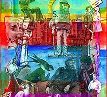 Words Will Travel, London has a Future 2, (Monochrome Jealousy). by - nawroski -