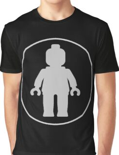 MINIFIG GREY Graphic T-Shirt