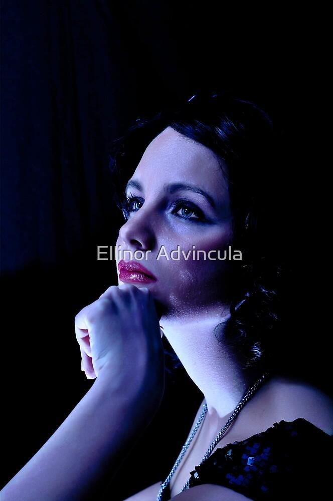 Snow Blue by Ellinor Advincula