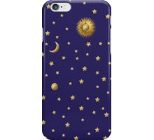 Sun, Moon and Stars iPhone Case/Skin