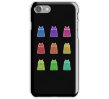 Rainbow Android Daleks iPhone Case/Skin