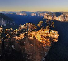 Sunset at Hanging Rock by STEPHEN GEORGIOU