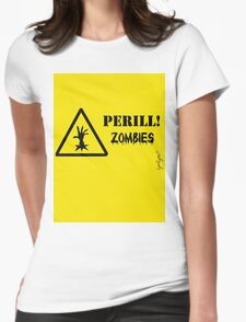 Perill Zombies Womens Fitted T-Shirt