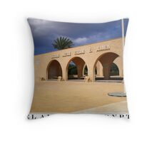 el alamein Throw Pillow